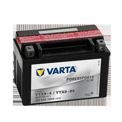 VARTA® Powersports AGM-Batterien sind wartungsfrei und müssen nicht aufgefüllt werden. Sie sind trocken geladen und werden mit Säure-Pack geliefert.