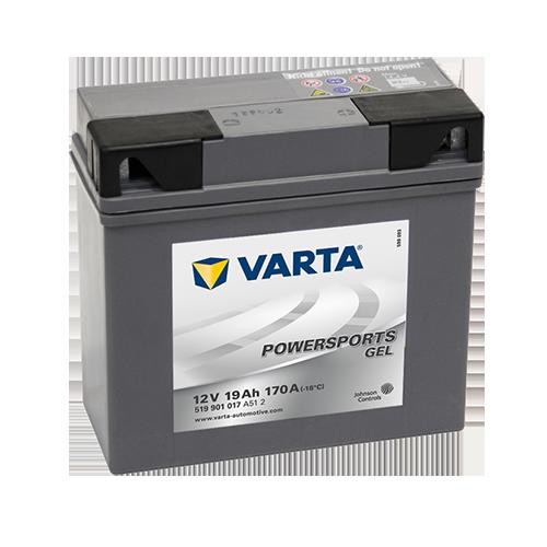 VARTA® Powersports Gel-Batterien sind absolut wartungsfrei, werden vollständig geladen geliefert und sind somit sofort einsatzbereit.